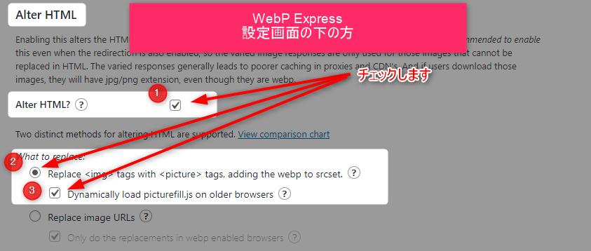 【アフィンガー5】モバイル表示速度スコアが30アップした3つの方法 2 webp express