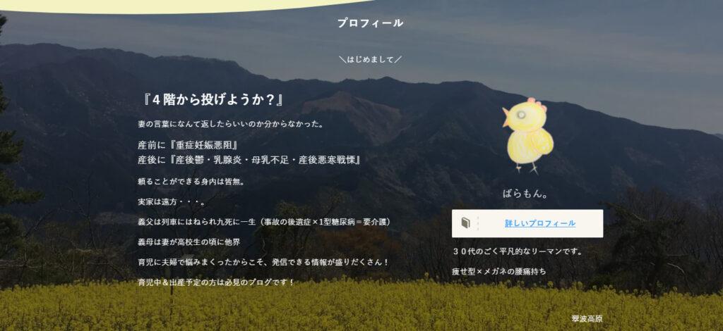 【ルクセリタス→SWELL】レビュー!デザイン崩れ対処はどんな感じ? SWELLプロフィール画面  1024x470